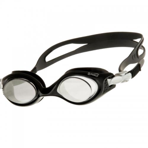 Очки для плавания  Saeko VIKING, зеркальные
