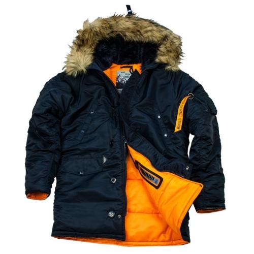 Зимняя куртка HUSKY DENALI Куртка INK/ORANGE