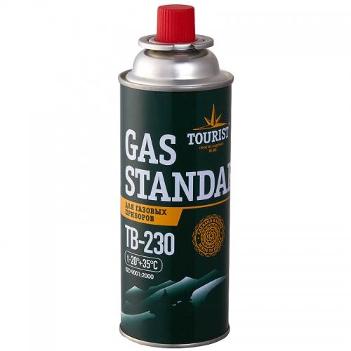 Газовый одноразовый баллон Tourist Standard TB-230